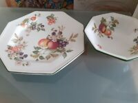 FRESH FRUIT BY JOHNSON BROTHERS plates