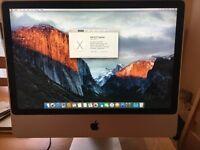 "iMac 9,1 Intel Core 2 Duo (2.93GHz) 24"" running latest El-Capitan OSX"