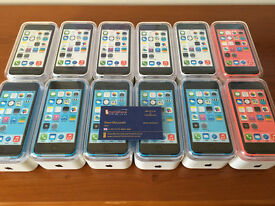 iPhone 5C 32GB unlocked sealed brand new pristine mint condition blue pink in stock