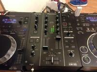 Pair of Pioneer CDJ 350 + DJM 350