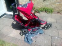 Phil & Ted's used double buggy £90 ono