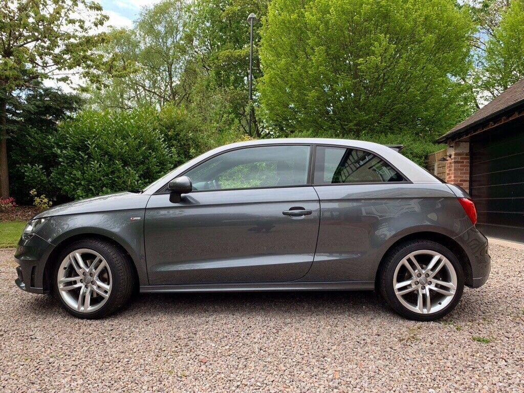 Audi A1 1 4 TFSI S line 36k miles 3 door petrol manual in Grey | in  Roundhay, West Yorkshire | Gumtree