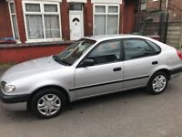 Toyota Corolla W Reg, Low Mileage Car for quick sale
