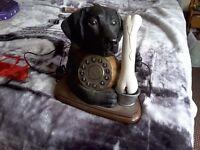 Labrador Dog Telephone