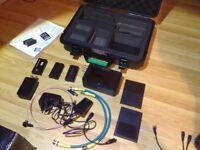 Atomos Samurai Blade 5' HD-SDI 10Bit Field Recorder, Monitor & Deck w/Accessories. AS NEW CONDITION!