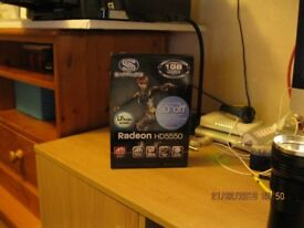 1 Sapphire, 1 XFX Radeon Graphics cards both ATI compatible