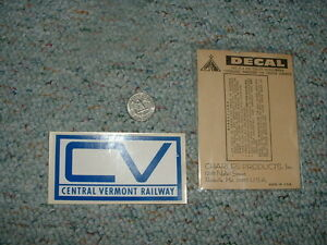 Charles-Products-flex-cote-decals-S-LGB-large-scale-Central-Vermont-Railway-D5