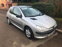 Peugeot 206 1.1 Warranted 30k Miles, HPi Clear, 12 Months MOT - 05/02/19, No Advisories on Last MOT