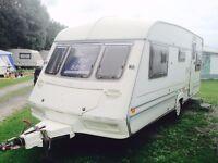 ABI DALESMAN 520 CT 4 Berth Touring Caravan For Sale REDUCED