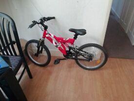 BTwin bike for kids 6-8 years.