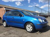 VW POLO E 5 DOOR HATCH BACK 1.2 PETROL *NEW 12 MONTH MOT* 17 SERVICES!!!