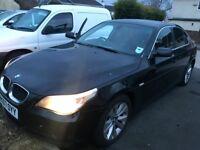 2007 BMW 520D SE Auto Black