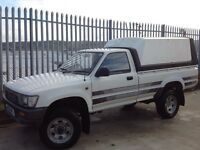 TOYOTA HILUX SINGLE CAB 4X4 2.2 PETROL MANUAL WHITE