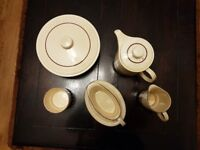 Tea pot sets ( POOLE Brand) in fabulous condition and very good make.