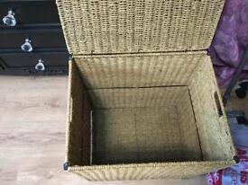 Large sea grass storage/washing basket