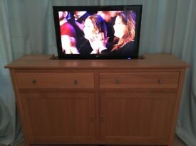 Tv cabinet with power lift, remote control