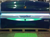 Megasun 4000 ultra power Sunbed for Sale. Warranty inc. Fully Refubished & Ready For Installation