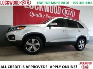 2013 Kia Sorento EX-V6 - AWD, LEATHER, REVERSE CAM