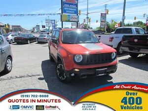 2015 Jeep Renegade TRAILHAWK   AWD   NAV   BACKUP CAM   ONE OWNE