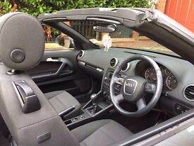 Audi A3 Cabriolet Convertable 2010 Manual Petrol Excellent condition and low mileage!!!