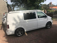 """VW T6 Camper Van, Pristine Condition, Low mileage, fully converted, heating, 20"""" alloy wheels."""
