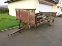 Massey ferguson tipping trailer
