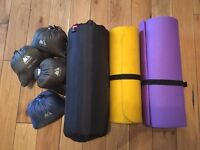Selection of Camping Bedding including mats and pillows