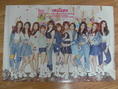 I.O.I - CHRYSALIS 1ST MINI ALBUM [ORIGINAL POSTER] *NEW* K-POP 101 IOI