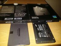2x Samsung Evo 850 512gb SSD Drive