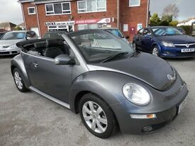 Volkswagen Convertible Beetle - Automatic - Grey - 2.0L - Lots of optional extras!