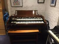 A100 Hammond Organ and 351 LESLIE Cabinet.
