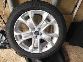Refurbished Ford Kuga 18inch Alloy Rim with Brand New Tyre