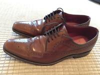 Mens Brown Loakes Size 8