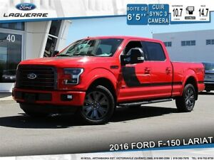 2016 Ford F-150 LARIAT, 502A, CREW CAB, 3.5L, ENSEMBLE DECOR