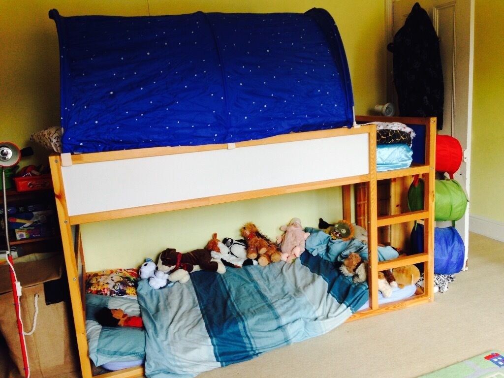 Ikea single bed kura with buy sale and trade ads - Discontinued ikea beds ...