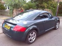 PRICE REDUCTION FROM £2,300 Audi TT Quattro (180bhp) 2002. great fun to drive, in good condition.
