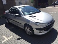 PEUGEOT 206cc Convertible, Full MOT History, Full Leather Intirior, HPI Clear, Warranted Mileage.