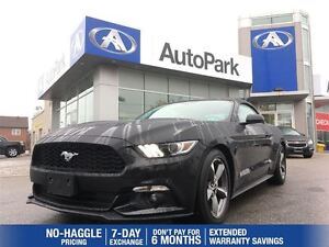 2016 Ford Mustang V6/BLUETOOTH/HEATED SEATS/REARVIEW CAM/ALLOYS