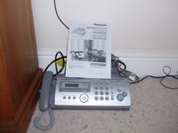 Panasonic Fax Machine with Answering system
