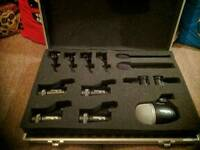Complete set of Skytronic drum recording mics - £60 or best offer