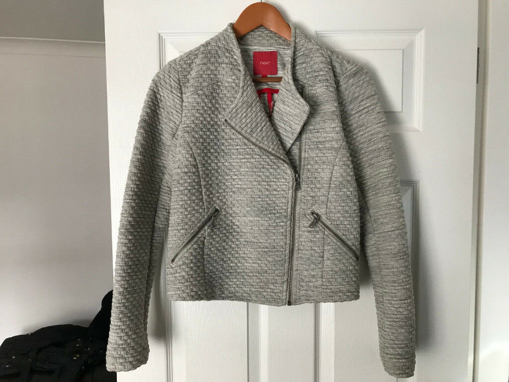 WOMAN'S BIKER STYLE JACKET SIZE 6 FROM NEXT