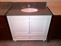 VANITIES, BATHROOMS,KITCHENS, HUGE SELECTION ON SALE NOW