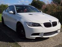 !!M3 REPLICA!! 2007 BMW 335D M SPORT / 12 MONTHS MOT / WHITE / RED LEATHER / FULL SERVICE HISTORY