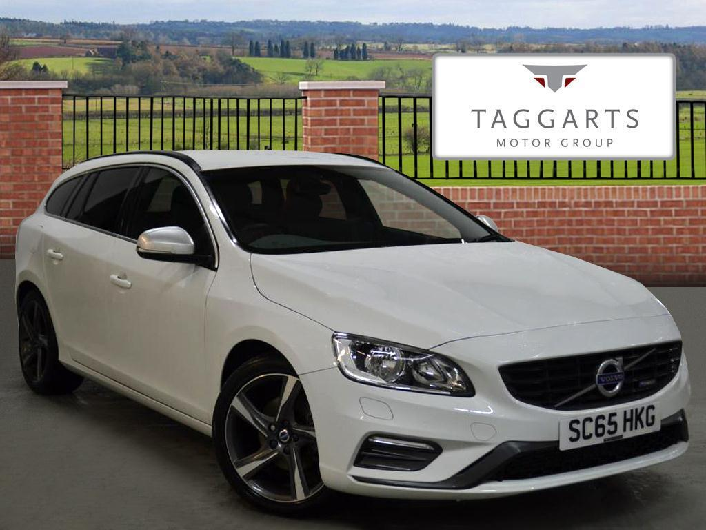 volvo v60 d4 181 r design 5dr white 2015 12 04 in motherwell north lanarkshire gumtree. Black Bedroom Furniture Sets. Home Design Ideas