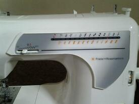 Frister+Rossmann sewing machine USED ONLY ONCE