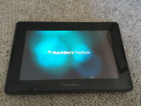 Blackberry Playbook 64GB Tablet PC - Excellent condition - with rapid charger and cases
