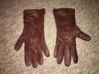 Woman leather gloves size S/M