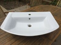 Hudson Reed Alton Basin with full pedestal