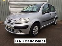 2003 CITROEN C3 1.4 SX **LONG MOT** Similar To Clio Punto Polo Corsa jazz 107 yaris