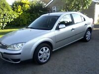 FORD MONDEO 1-8 LX DURATEC HE 5-DOOR 2004. 89,000 MILES, 2 PREVIOUS OWNERS.